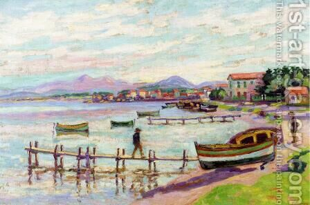 The Brusc by Armand Guillaumin - Reproduction Oil Painting