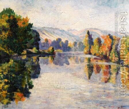 The Creuse In Autumn by Armand Guillaumin - Reproduction Oil Painting