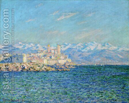 Antibes  Afternoon Effect by Claude Oscar Monet - Reproduction Oil Painting