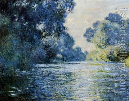 Arm Of The Seine At Giverny by Claude Oscar Monet - Reproduction Oil Painting