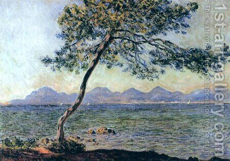 At Cap D Antibes by Claude Oscar Monet - Reproduction Oil Painting