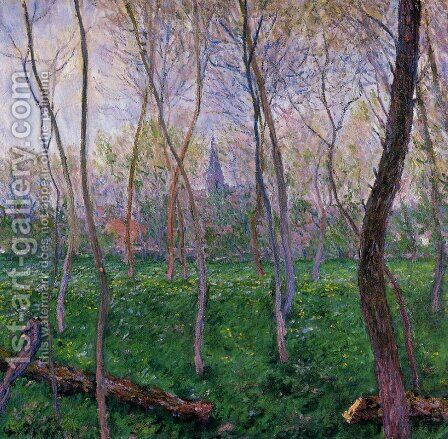 Bennecourt2 by Claude Oscar Monet - Reproduction Oil Painting