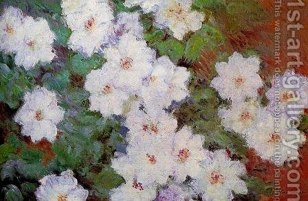 Clematis by Claude Oscar Monet - Reproduction Oil Painting