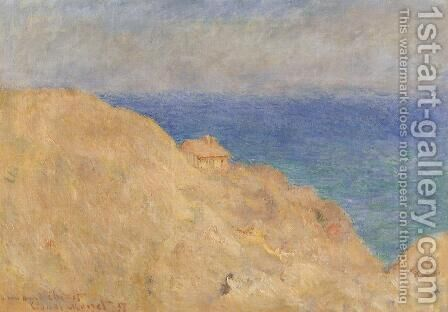 Coastguard Cabin by Claude Oscar Monet - Reproduction Oil Painting