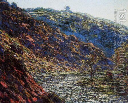 Gorge Of The Petite Creuse by Claude Oscar Monet - Reproduction Oil Painting