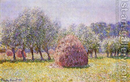 Haystack by Claude Oscar Monet - Reproduction Oil Painting