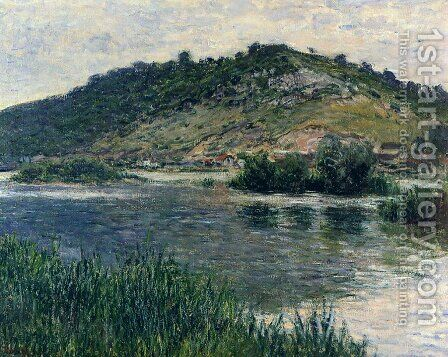 Landscape At Port Villez by Claude Oscar Monet - Reproduction Oil Painting
