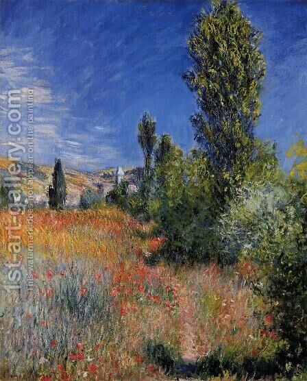 Landscape On The Ile Saint Martin by Claude Oscar Monet - Reproduction Oil Painting