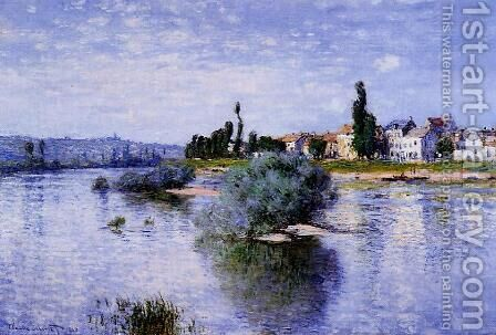 Lavacourt by Claude Oscar Monet - Reproduction Oil Painting