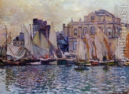 Le Havre Museum by Claude Oscar Monet - Reproduction Oil Painting