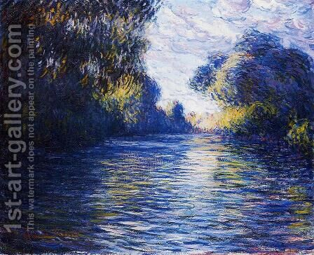 Morning On The Seine 2 by Claude Oscar Monet - Reproduction Oil Painting