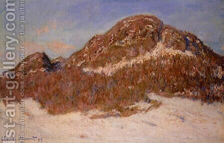 Mount Kolsaas 2 by Claude Oscar Monet - Reproduction Oil Painting