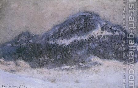 Mount Kolsaas In Misty Weather by Claude Oscar Monet - Reproduction Oil Painting