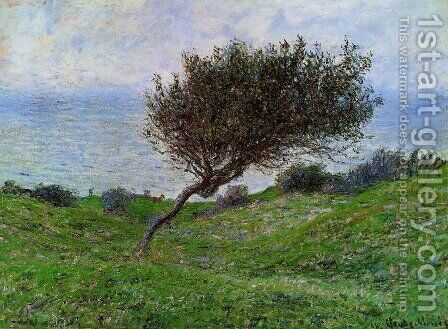 On The Coast At Trouville by Claude Oscar Monet - Reproduction Oil Painting