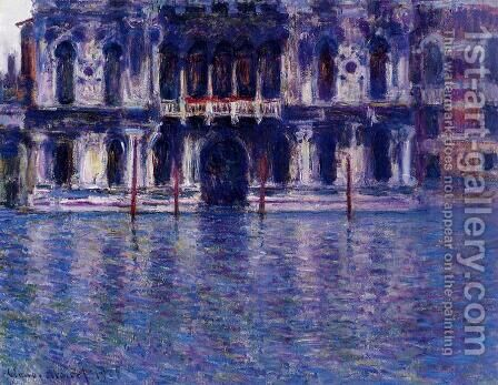 Palazzo Contarini 2 by Claude Oscar Monet - Reproduction Oil Painting