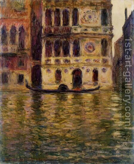 Palazzo Dario3 by Claude Oscar Monet - Reproduction Oil Painting