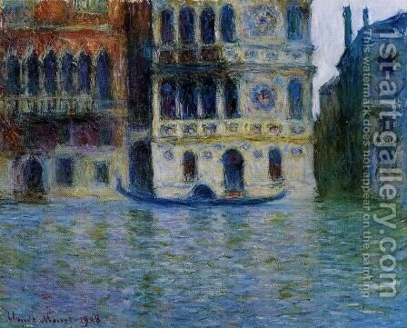Palazzo Dario4 by Claude Oscar Monet - Reproduction Oil Painting