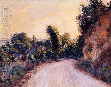 Path by Claude Oscar Monet - Reproduction Oil Painting