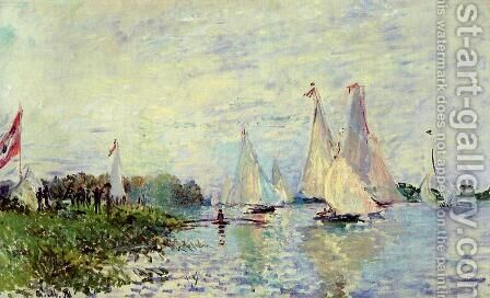 Regatta At Argenteuil3 by Claude Oscar Monet - Reproduction Oil Painting