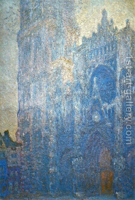 Rouen Cathedral  The Portal  Morning Effect by Claude Oscar Monet - Reproduction Oil Painting