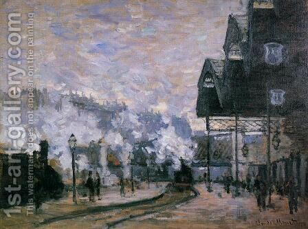 Saint Lazare Station  The Western Region Goods Sheds by Claude Oscar Monet - Reproduction Oil Painting