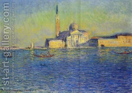 San Giorgio Maggiore by Claude Oscar Monet - Reproduction Oil Painting