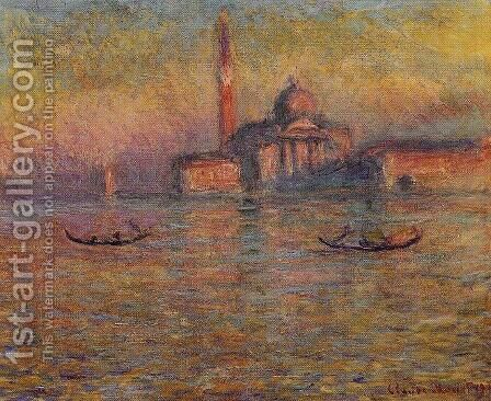 San Giorgio Maggiore2 by Claude Oscar Monet - Reproduction Oil Painting