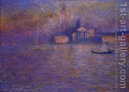 San Giorgio Maggiore3 by Claude Oscar Monet - Reproduction Oil Painting