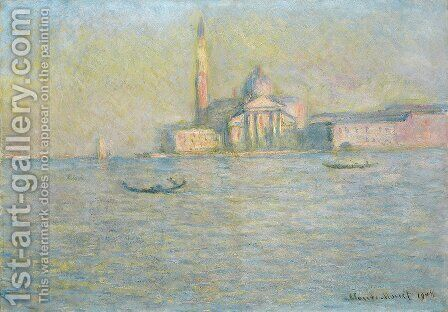 San Giorgio Maggiore4 by Claude Oscar Monet - Reproduction Oil Painting
