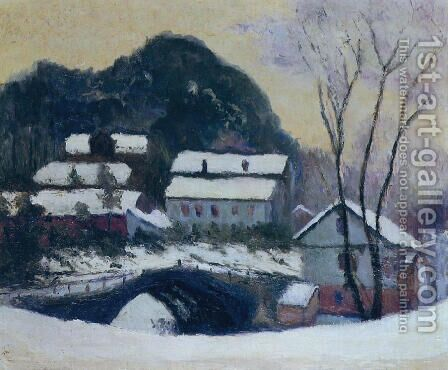 Sandviken  Norway by Claude Oscar Monet - Reproduction Oil Painting