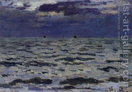 Seascape by Claude Oscar Monet - Reproduction Oil Painting