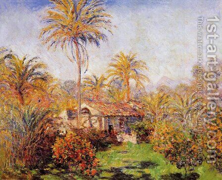 Small Country Farm In Bordighera by Claude Oscar Monet - Reproduction Oil Painting