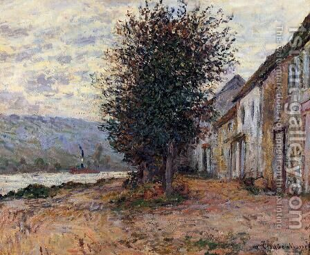 The Banks Of The Seine At   (Claude Oscar Monet   1878) by Claude Oscar Monet - Reproduction Oil Painting