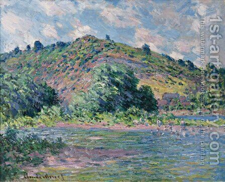 The Banks Of The Seine At Port Villez by Claude Oscar Monet - Reproduction Oil Painting