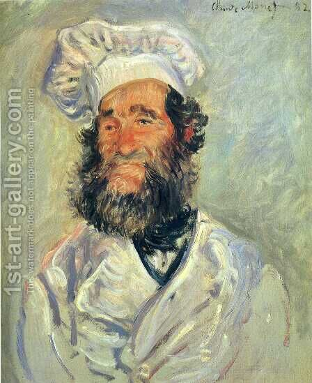 The Chef  Pere Paul by Claude Oscar Monet - Reproduction Oil Painting
