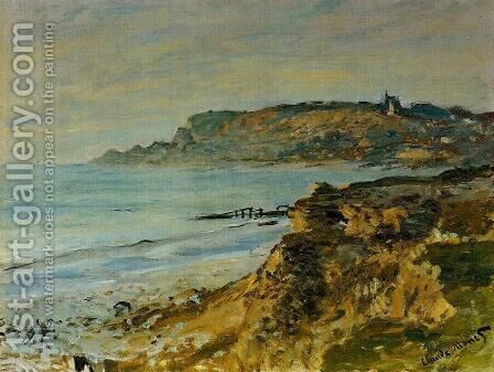 The Cliff At Sainte Adresse by Claude Oscar Monet - Reproduction Oil Painting