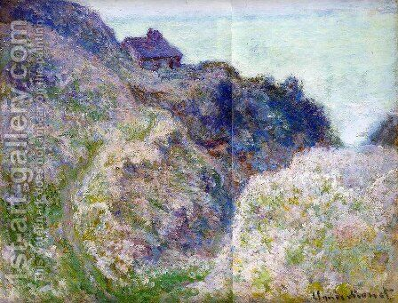 The Coastguard Cabin At Varengeville by Claude Oscar Monet - Reproduction Oil Painting