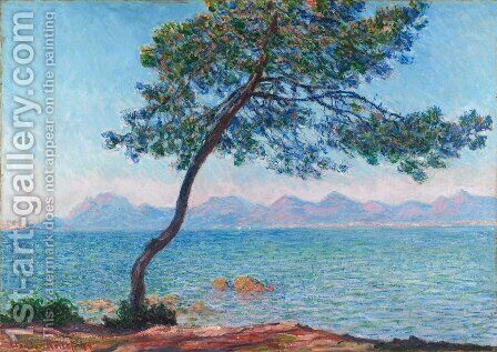 The Esterel Mountains by Claude Oscar Monet - Reproduction Oil Painting
