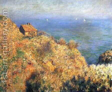 The Fishermans House At Varengeville by Claude Oscar Monet - Reproduction Oil Painting
