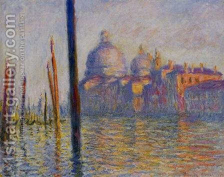 The Grand Canal4 by Claude Oscar Monet - Reproduction Oil Painting