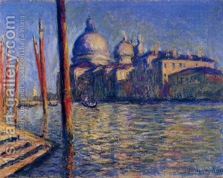 The Grand Canal And Santa Maria Della Salute by Claude Oscar Monet - Reproduction Oil Painting
