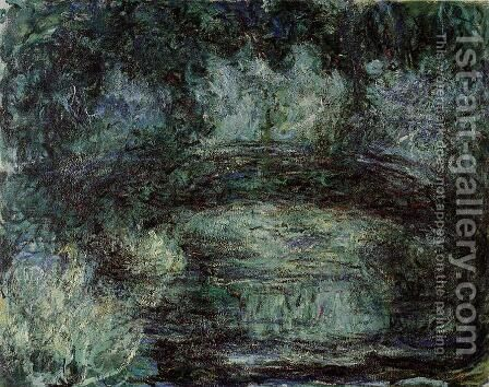 The Japanese Bridge4 by Claude Oscar Monet - Reproduction Oil Painting