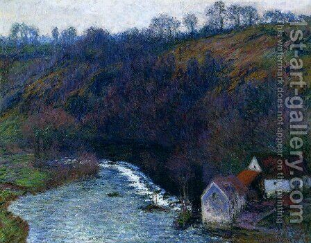 The Mill At Vervy by Claude Oscar Monet - Reproduction Oil Painting