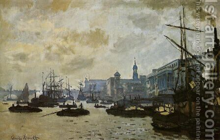 The Port Of London by Claude Oscar Monet - Reproduction Oil Painting