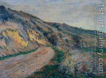 The Road To Giverny by Claude Oscar Monet - Reproduction Oil Painting