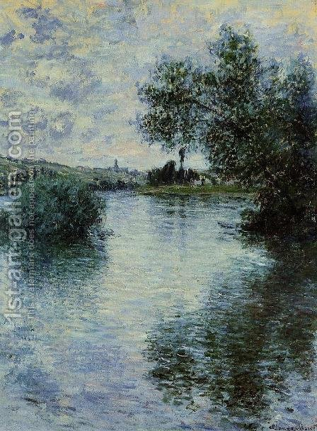 The Seine At Vetheuil3 by Claude Oscar Monet - Reproduction Oil Painting