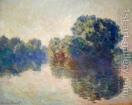 The Seine Near Giverny2 by Claude Oscar Monet - Reproduction Oil Painting
