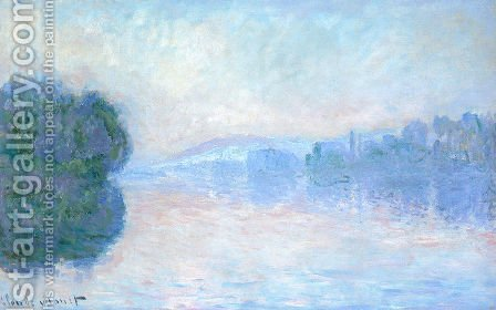 The Seine Near Vernon by Claude Oscar Monet - Reproduction Oil Painting