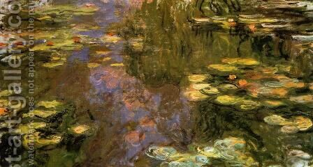 The Water Lily Pond8 by Claude Oscar Monet - Reproduction Oil Painting