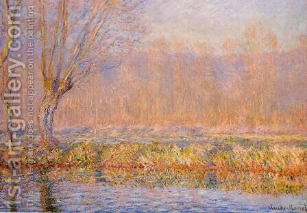 The Willow Aka Spring On The Epte by Claude Oscar Monet - Reproduction Oil Painting